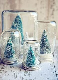 schneekugel selber machen weihnachten diy diy