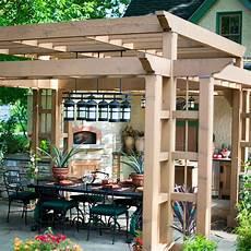 Glasbausteine Im Garten - pergola in the garden 10 interesting ideas for wooden arbors