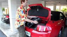 How Much Fits In The Trunk Of A Ford Mustang Convertible