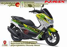 Modifikasi Stiker Nmax by Gambar Modifikasi Stiker Yamaha Nmax Modif Sticker