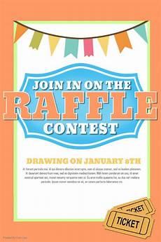 Raffle Ticket Fundraiser Flyer Poster Raffle Flyer Contest Social Media Post Template