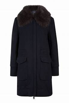 woolrich coats woolrich s wool cotton track coat navy linea fashion