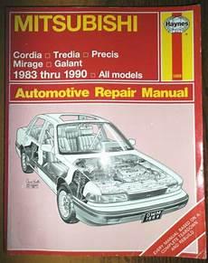 auto repair manual online 1986 mitsubishi cordia instrument cluster 1983 1990 mitsubishi haynes service shop automotive repair
