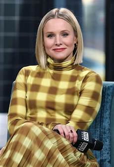 kristen bell build series at build studio in nyc 02 21 2020