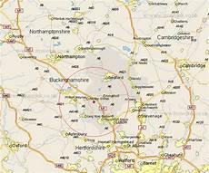 ridgmont map and road maps of bedfordshire uk