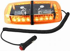 HQRP 24 LED Strobe Amber Emergency Vehicle Mini