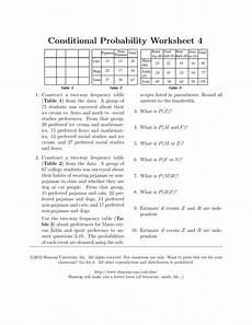 probability worksheet 4 answer key 5973 probability worksheet 4 answer key thaipoliceplus
