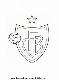 Ausmalbilder Fussball Schweiz Fc Basel Vereinswappen Fussball Ausmalen Malvorlagen