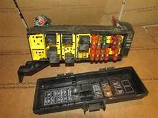 fuse box under hood 1998 jeep wrangler oem 1997 jeep grand relay center fuse box power distribution ebay