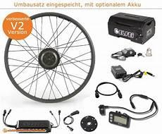 umbausatz e bike elfei 250 w umbausatz vorderrad pedelecs und e bikes