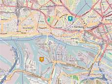 Hamburg Sehenswürdigkeiten Karte - hafen in hamburg