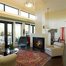 bilder fürs wohnzimmer modern bunter perserteppich im modern eingerichteten wohnzimmer