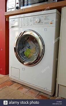 Miele Novotronic Premier 500 Washing Machine Stock Photo