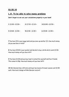 money worksheets year 6 2399 using money differentiated worksheets by shelly82 teaching resources tes