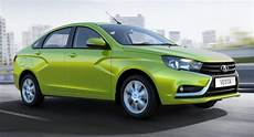 avtovaz starts production of all new lada vesta sedan w