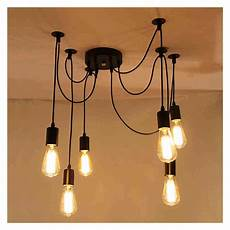 Suspension Filaire 6 X E27 Douille R Tro Lustre