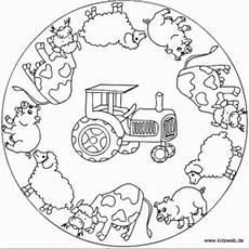 Ausmalbilder Mandala Bauernhof Farm Coloring Page Crafts And Worksheets For Preschool
