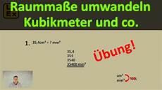 Raumma 223 E Umwandeln Kubikmeter Kubikzentimeter
