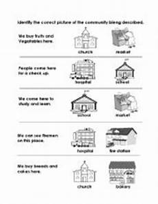 places in community worksheets 15955 14 best images of esl worksheets about community activities for esl occupations worksheets