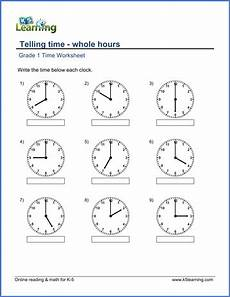 analog time worksheets grade 4 3349 grade 1 telling time worksheet on whole hours with images time worksheets 1st grade math