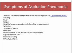 aspiration pneumonia death rate