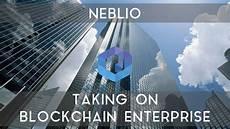 neblio ico taking blockchain enterprise youtube