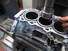 Nissan 350z Motor Aufbohren