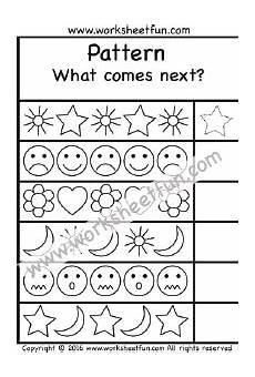free printable pattern worksheets for grade 1 365 patterns what comes next 1 worksheet pattern worksheets for kindergarten math patterns