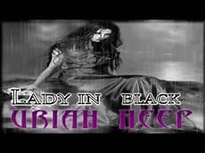 in black uriah heep in black new