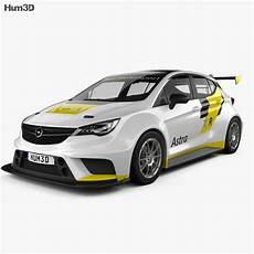 Opel Astra Tcr - opel astra tcr 2016 3d model vehicles on hum3d