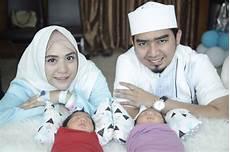 Ustadz Solmed April Umumkan Nama Bayi Kembar