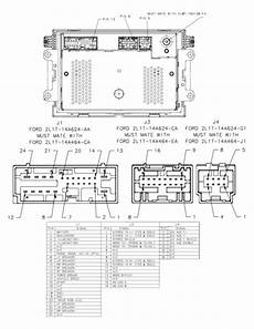 2003 mustang stereo wiring diagram 2003 ford radio wiring diagram ford get free image about wiring diagram