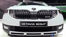 2018 Skoda Octavia Scout Exterior And Interior
