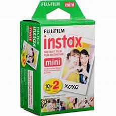 fujifilm instax mini instant 20 exposures 16437396 b h