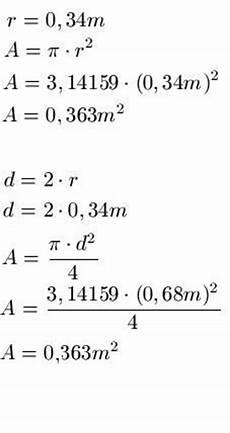 kreisberechnung formel beispiele