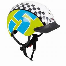 casco kinder fahrradhelm mini generation racer 5 blau