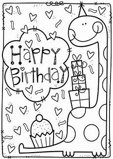 Gratis Malvorlagen Happy Birthday Free Easy To Print Happy Birthday Coloring Pages Tulamama