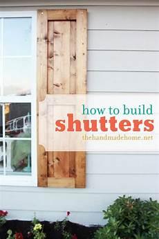 how to build shutters diy shutters handmade home diy