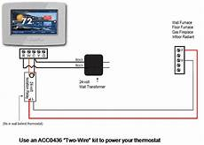 gas furnace wiring diagram 2wire converting to low voltage thermostat diy