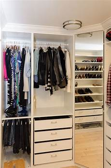 ikea pax closet with crown molding corner wardrobe with