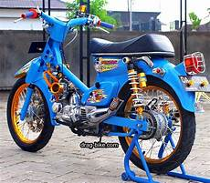 Modifikasi Honda C70 by 42 Foto Gambar Modifikasi Motor C70 Racing Chopper