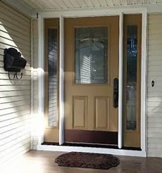 Front Door Entrance Patio by Feather River Door S Rochester Entry Door In Real
