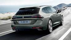 the new peugeot 508 sw will carry all of the dogs top gear