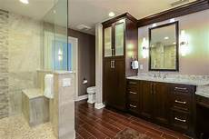 Bathroom Ideas Brown Cabinets by 23 Brown Bathroom Designs Decorating Ideas Design