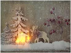 led bild weihnachten elch kerze mit 4 flackernden led 180 s