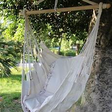 hanging swing cotton rope hammock hanging swing chair sky canvas solid