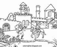 castle outline drawing at getdrawings free
