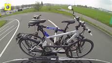 porta bici per auto tcs test portabiciclette per auto