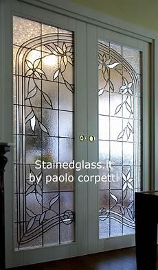 vetrate artistiche per porte interne vetrate artistiche roma by paolo corpetti vetrate bianche