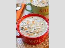 creamy crock pot turkey soup_image